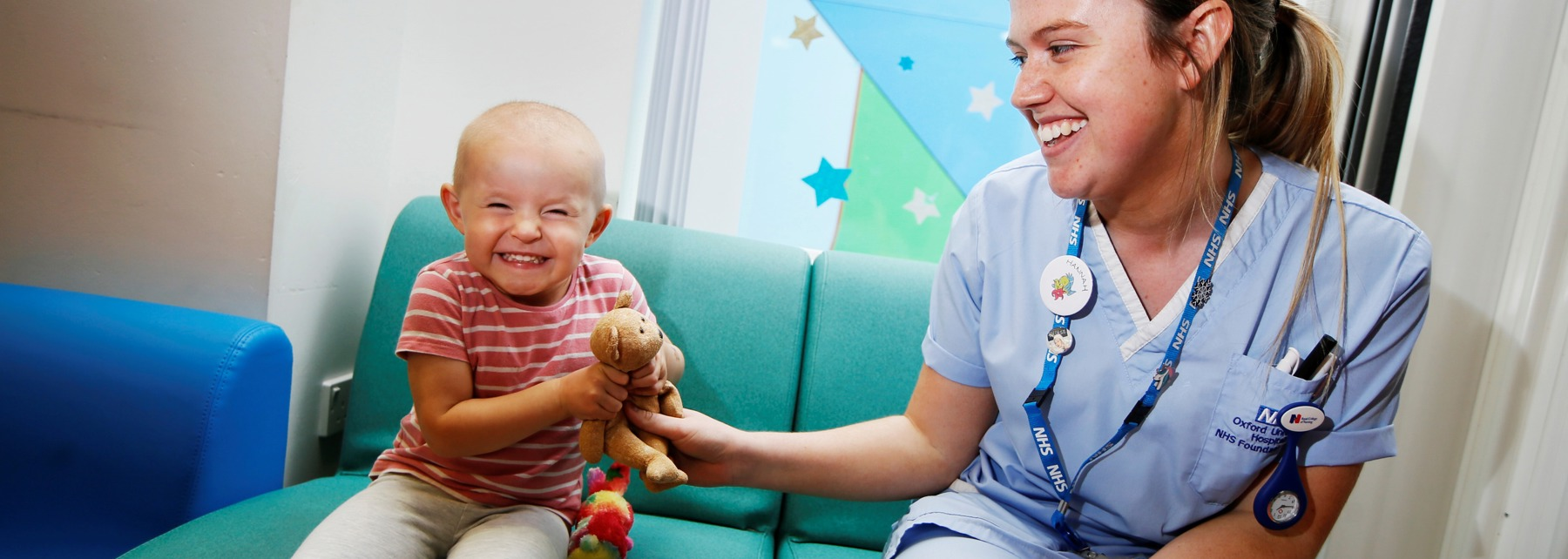 Donate to Oxford Children's Hospital
