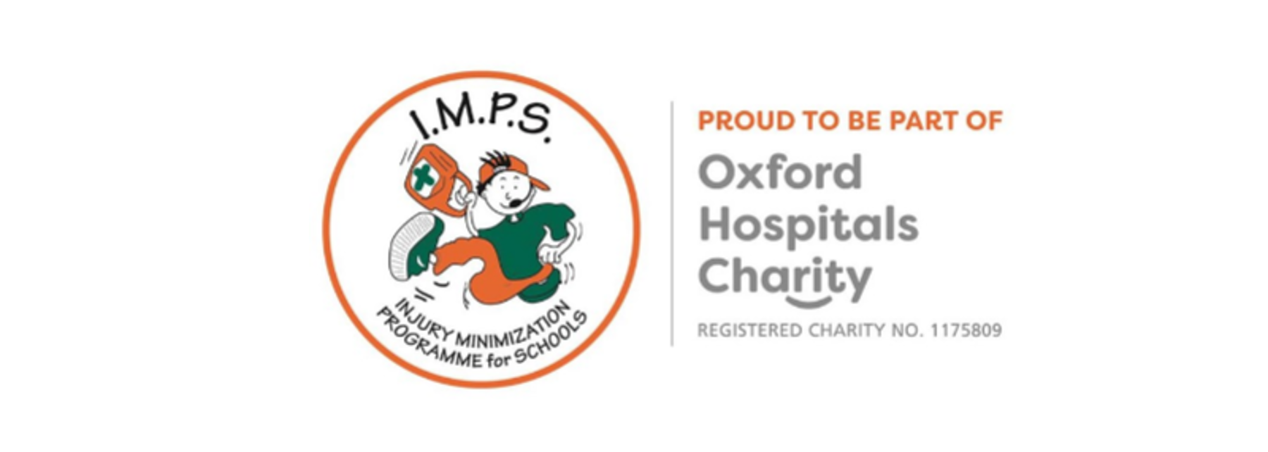 I.M.P.S. Injury Minimization Programme for Schools, proud to be part of Oxford Hospitals Charity