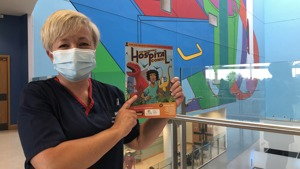 Special comic to help children in hospital